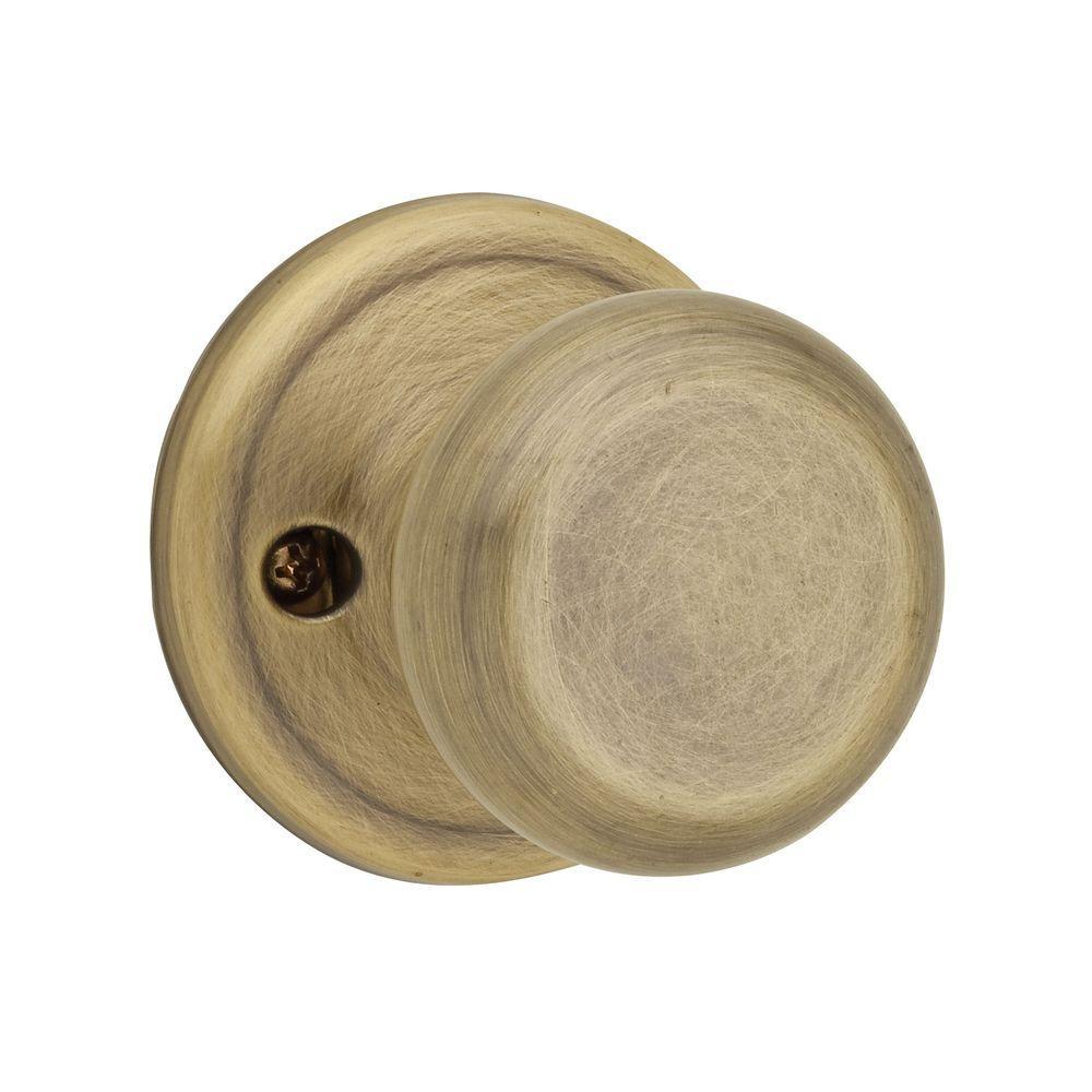 Hancock Antique Brass Half-Dummy Door Knob