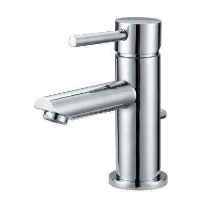 Eastport Single Hole Single-Handle Bathroom Faucet in Polished Chrome