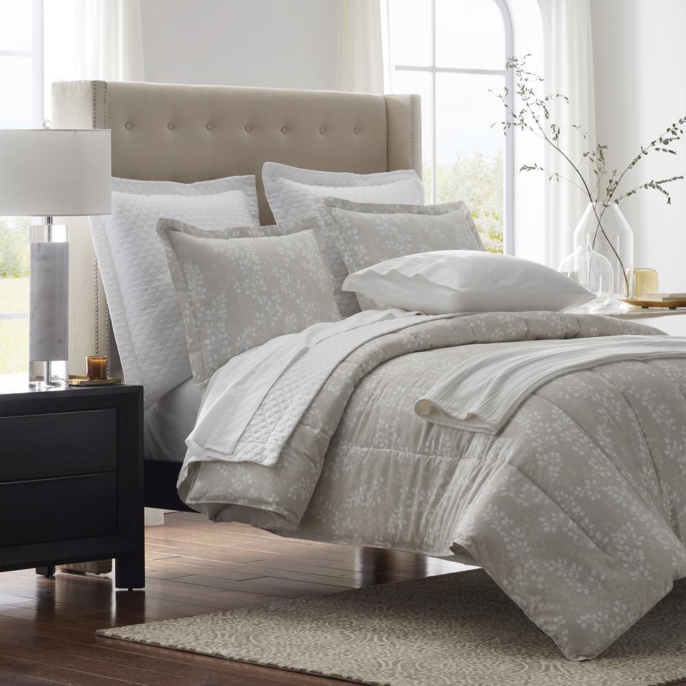 Legends Luxury Shadow Vine Cotton Sateen Comforter