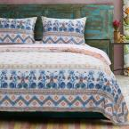 Aleena Ivory Quilt Set, 3-Piece King