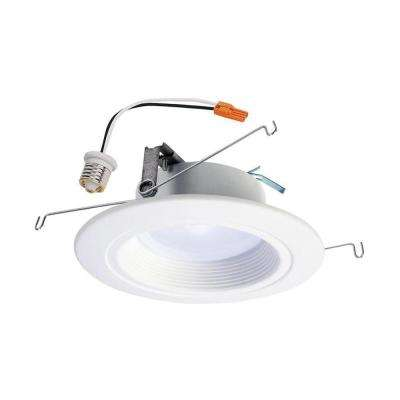 RL 5 in. and 6 in. White Integrated LED Recessed Ceiling Light Trim at Selectable CCT, Extra Brightness (1221 Lumens)