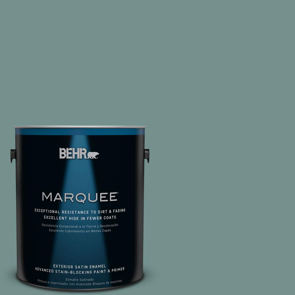 BEHR MARQUEE 1-gal. #PPU12-3 Dragonfly Satin Enamel Exterior Paint