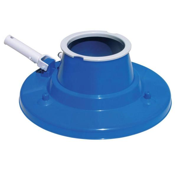 Deluxe Swimming Pool Leaf  Vacuum Head with Suction Jets and Leaf Bag