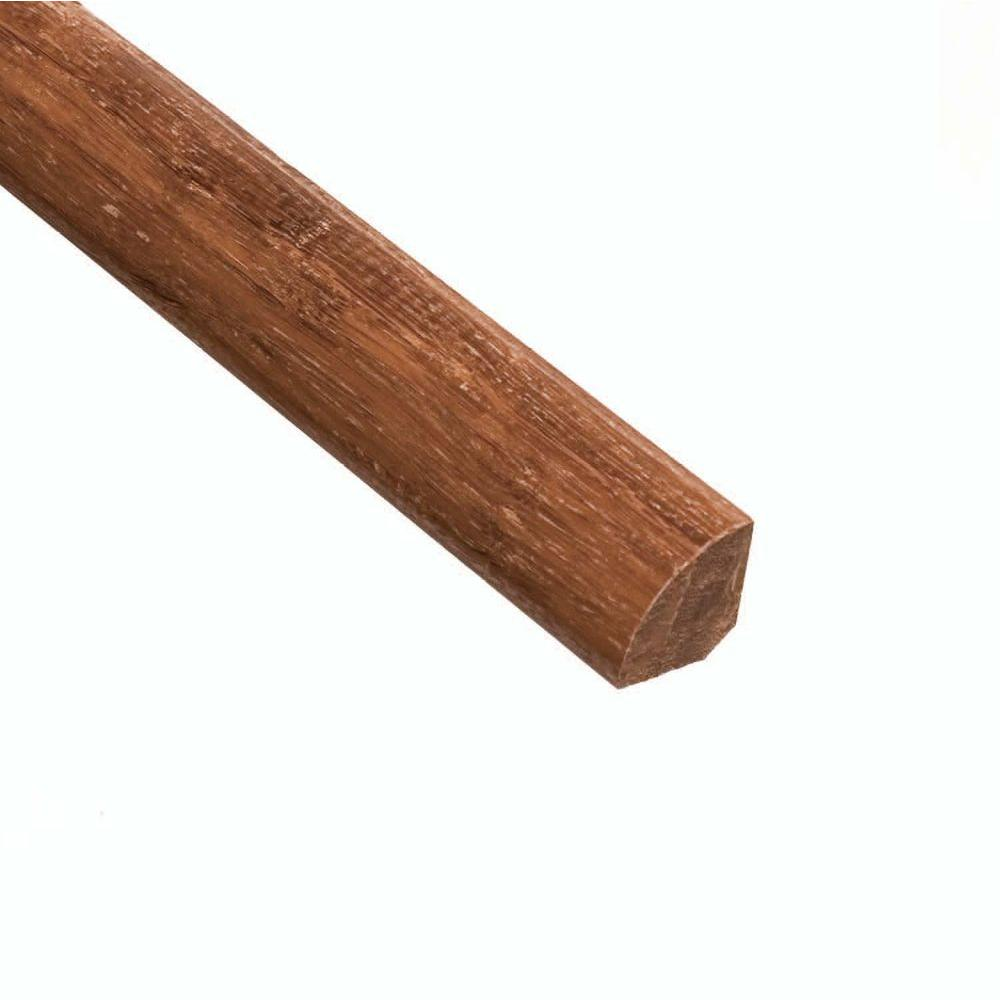 Home Legend Strand Woven Toast 3/4 in. Thick x 3/4 in. Wide x 94 in. Length Bamboo Quarter Round Molding