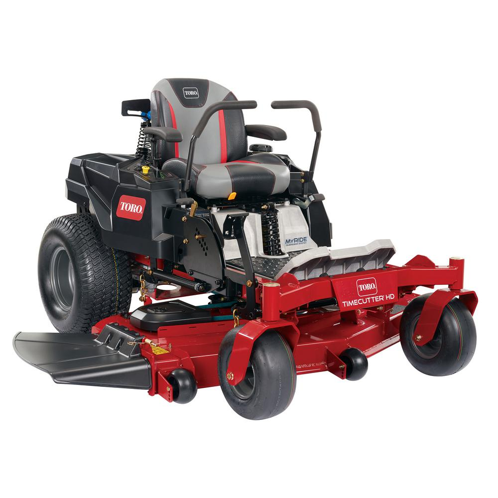 Toro TimeCutter HD with MyRIDE 48 in. Fab 22.5 HP V-Twin Gas Zero-Turn Riding Mower with Smart Speed