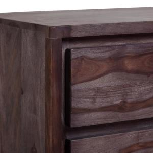 Big Sur Contemporary Solid Sheesham Wood Bedroom Chest of ...