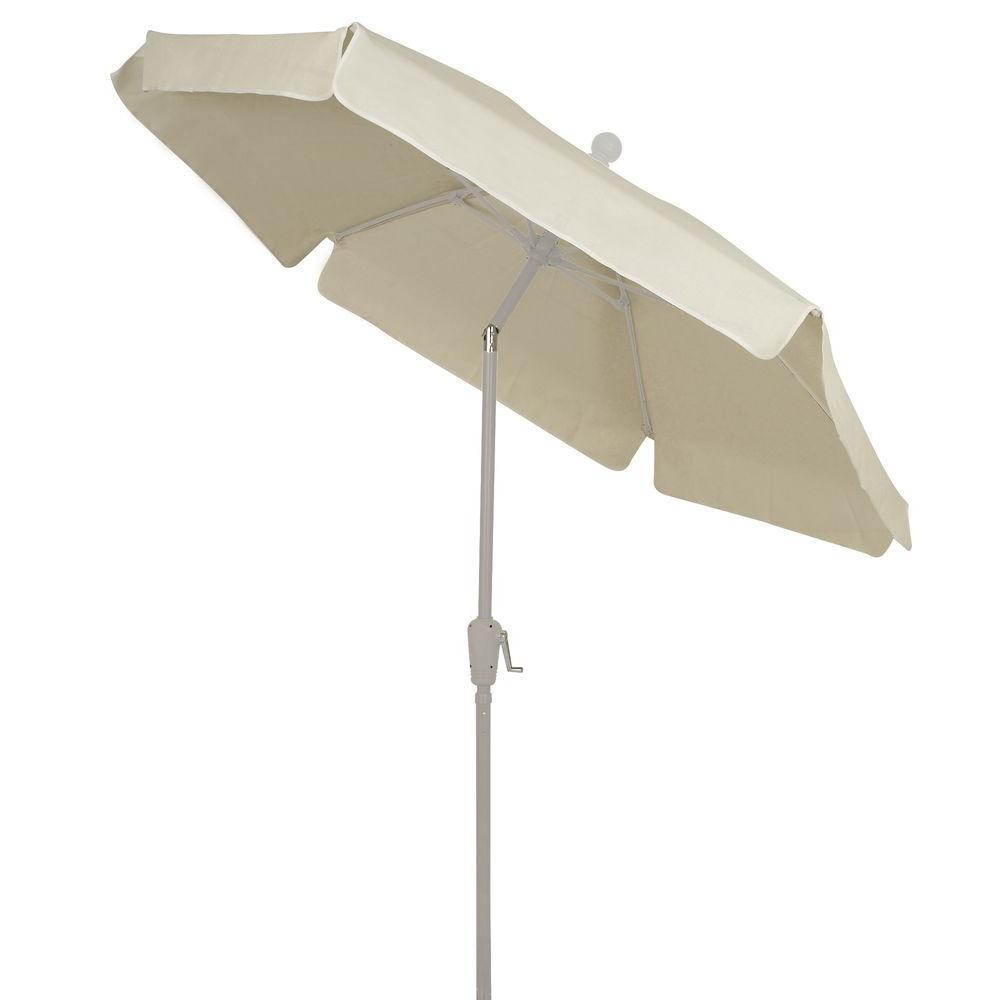 Fiberbuilt Umbrellas 7.5 ft Umbrella in Natural (Not White)-7GCRW ...