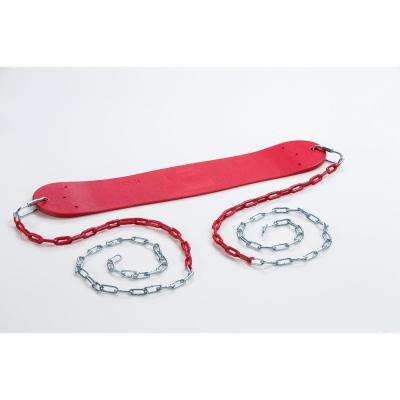 Standard Swing Seat with Chains- Red