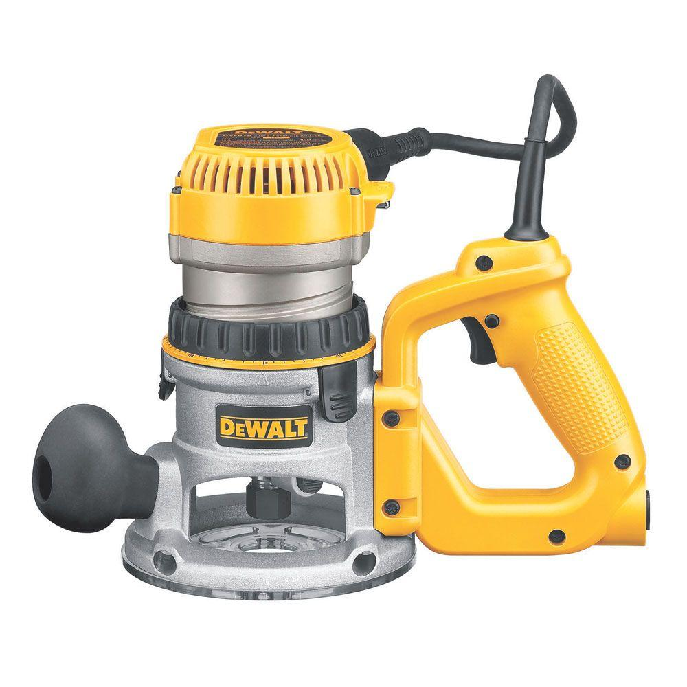 DeWALT 2-1/4 HP Electronic Variable Speed D-Handle Router...