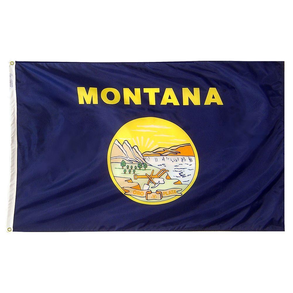 Annin Flagmakers 3 ft. x 5 ft. Montana State Flag
