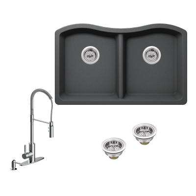 Gray - All in One - Specialty - Kitchen Sinks - Kitchen - The Home Depot