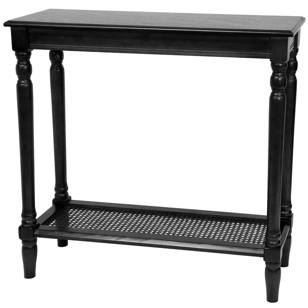 Classic Black End Table
