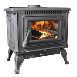 Ashley Hearth Products 2,000 sq. ft. EPA Certified Cast Iron Wood Stove with Blower by Ashley Hearth Products