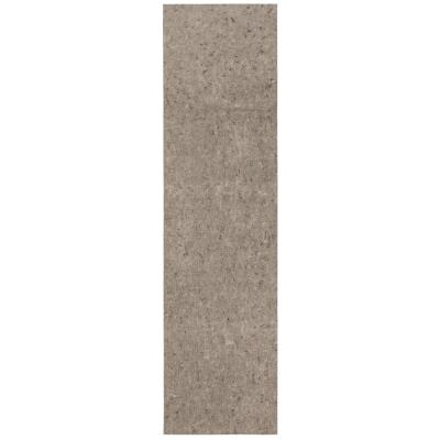 2 ft. x 8 ft. All Pet Grey Felted Reversible Pet Proof Rug Pad
