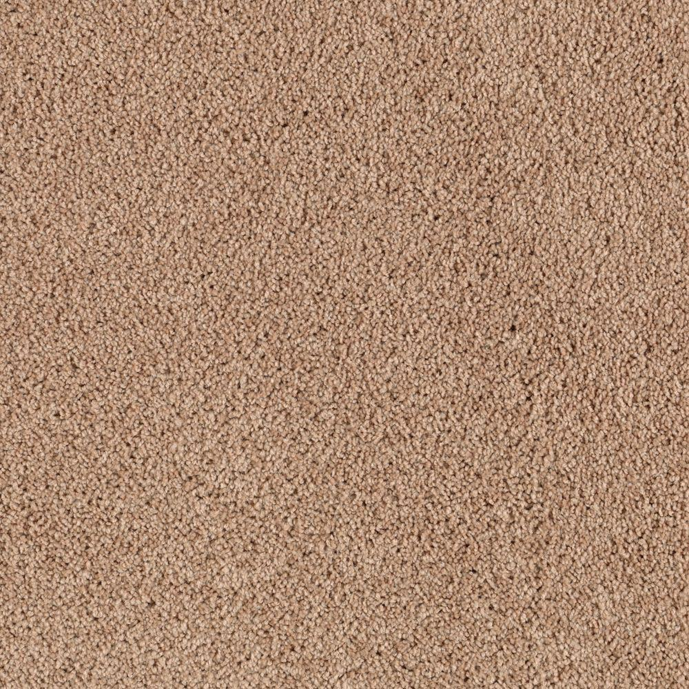 Carpet Sample Turbo I Color Tender Tan Texture 8 In X