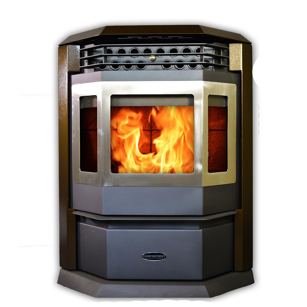 2,800 sq. ft. EPA Certified Pellet Stove with Auto Ignition in