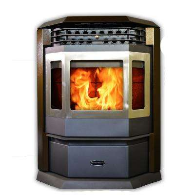 2,800 sq. ft. EPA Certified Pellet Stove with Auto Ignition