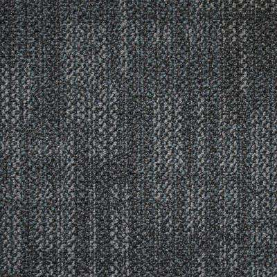 Carnegie Graphite Loop 19.7 in. x 19.7 in. Commercial Carpet Tile (20 Tiles