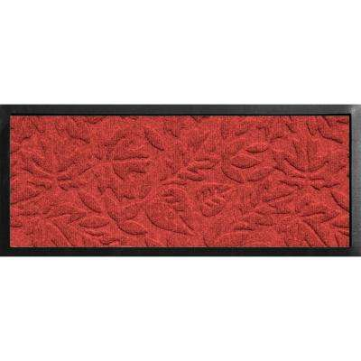 Aqua Shield Boot Tray Fall Day Red 15 in. x 36 in. Door Mat