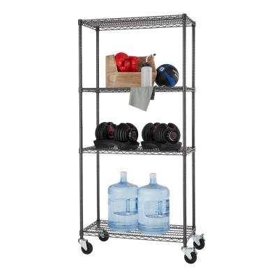 18 In Modular Garage Shelves Racks Garage Storage The Home