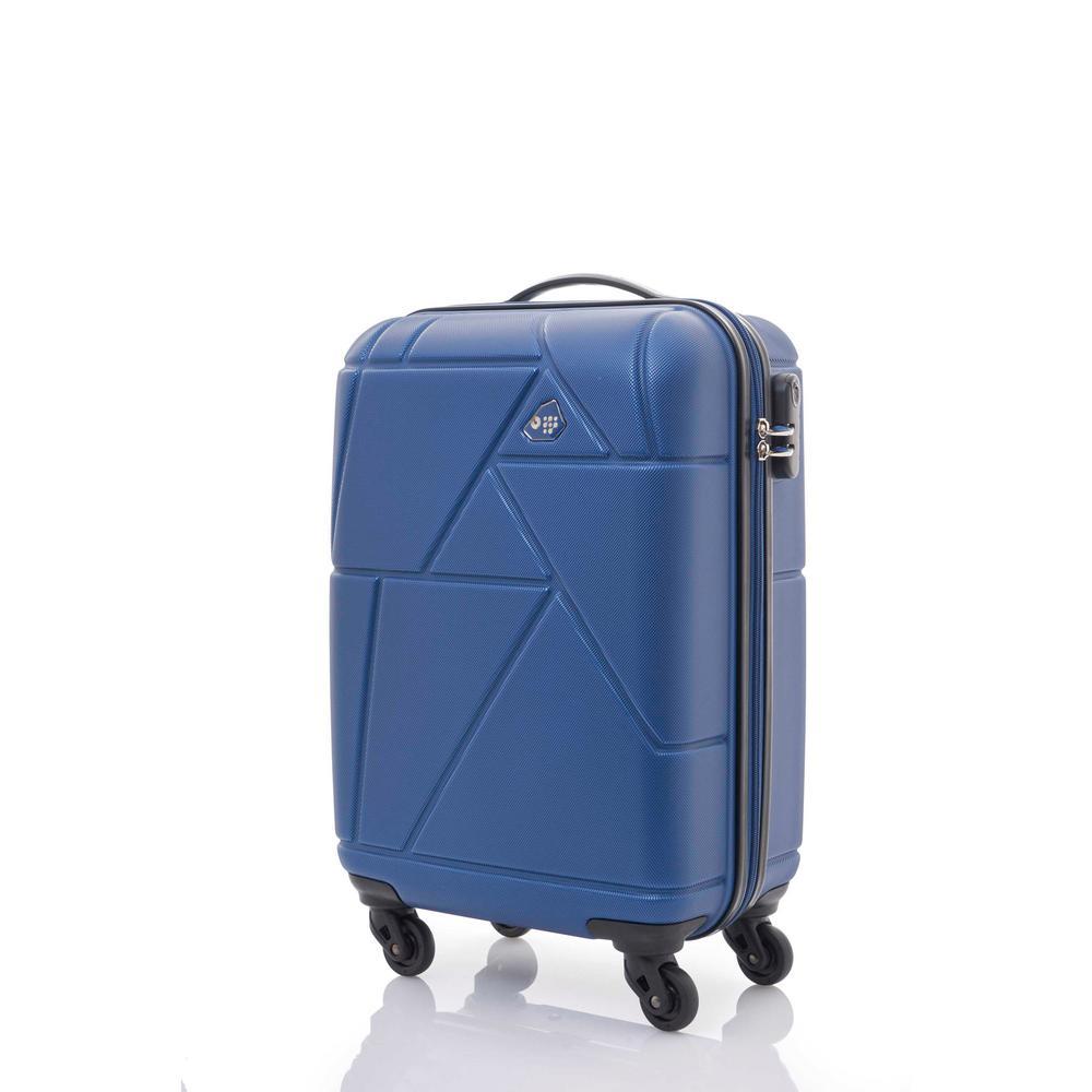 Verona 3-Piece Oxford Blue Spinner Luggage Set
