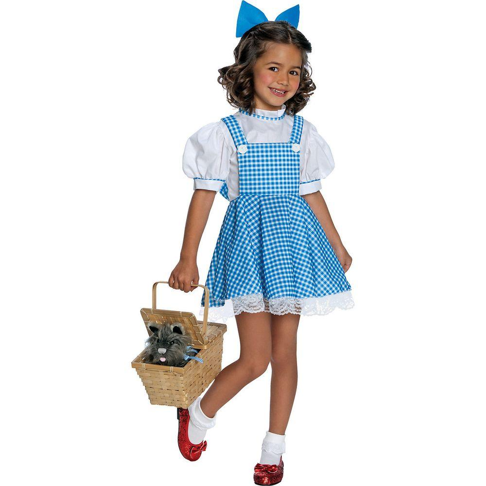 Rubieu0027s Costumes Deluxe Dorothy Child Costume  sc 1 st  Home Depot & Rubieu0027s Costumes Deluxe Dorothy Child Costume