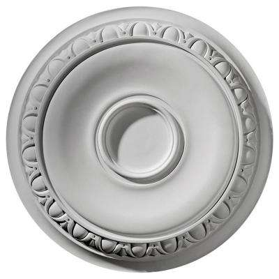 1-1/2 in. x 24-1/4 in. x 24-1/4 in. Polyurethane Caputo Ceiling Medallion