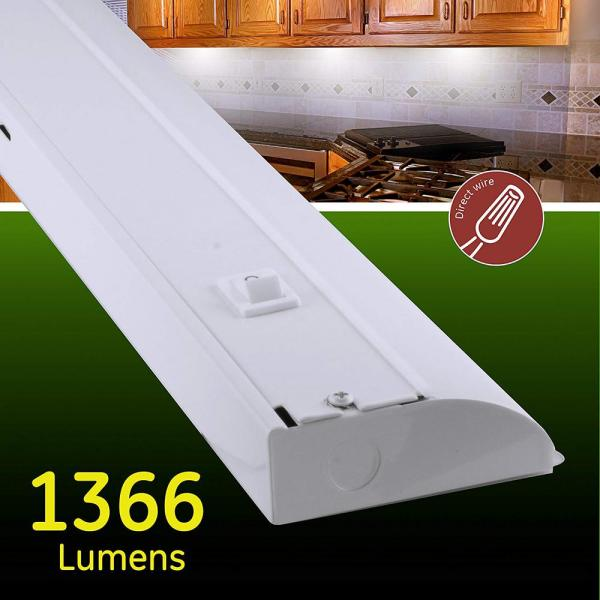 Ge 36 In Premium Led Direct Wire Under, Ge Led Under Cabinet Lighting