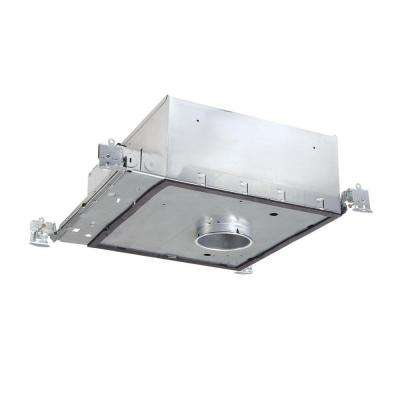 H36 3 in. Aluminum Recessed Lighting Housing for New Construction Shallow Ceiling, Low-Voltage, IC Rated, Air-Tite