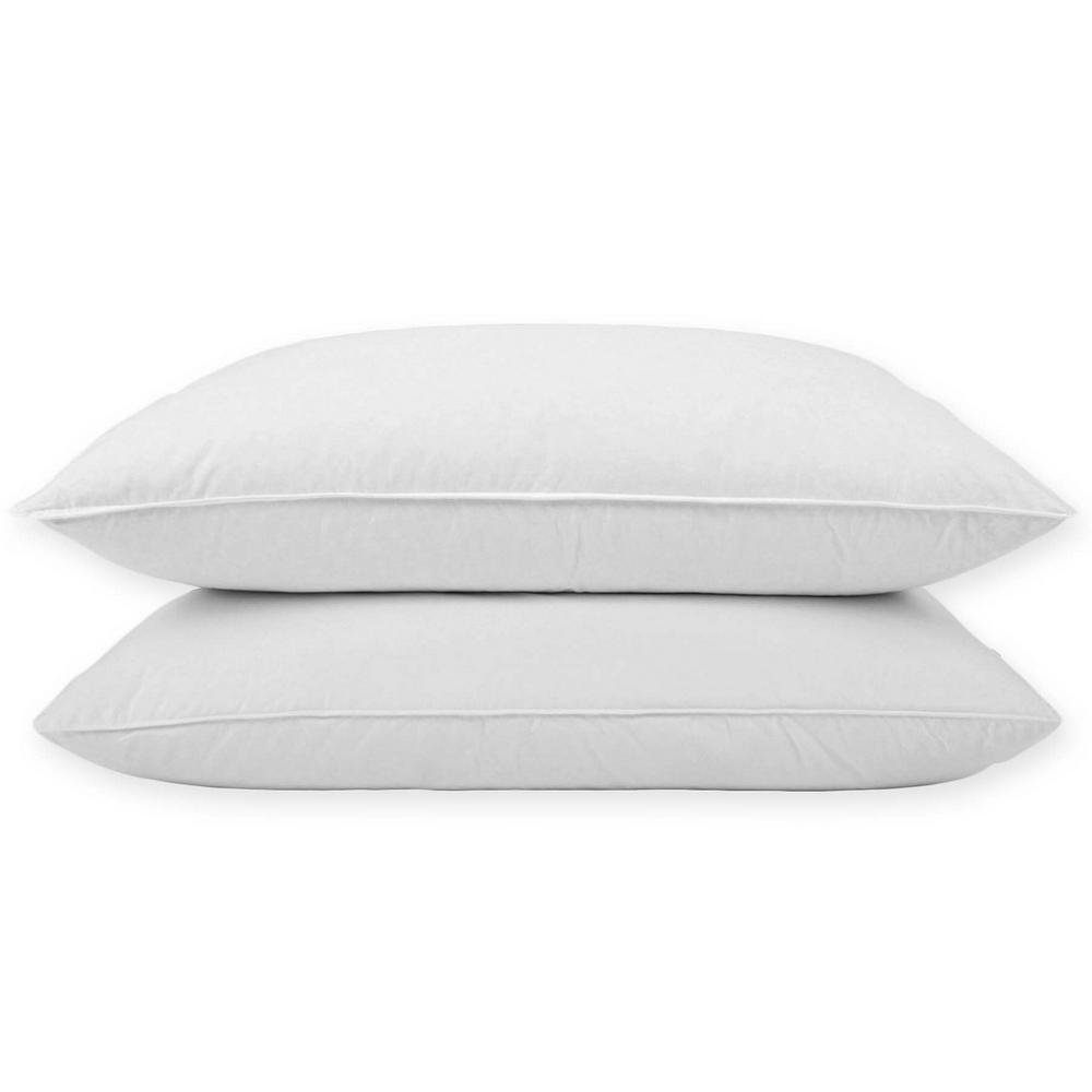 Puredown Goose Down King Pillow (Set of 2)
