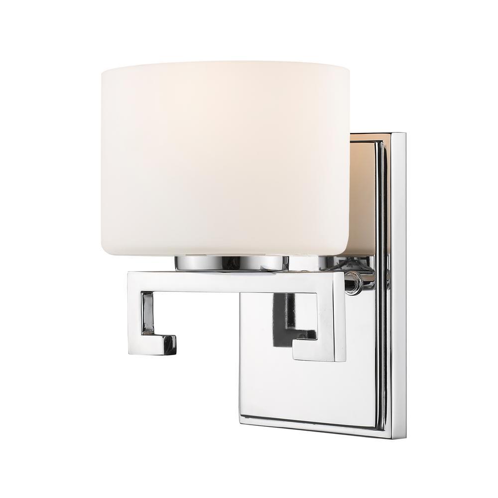 Persisia Chrome 8-Watt Integrated LED Bath Light