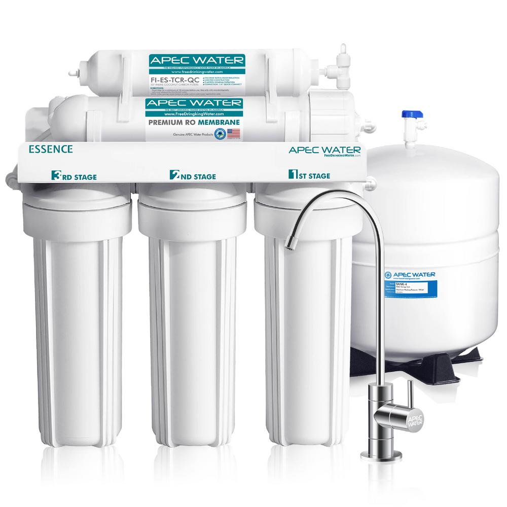 Essence Premium Quality 5-Stage Under-Sink Reverse Osmosis Drinking Water Filter