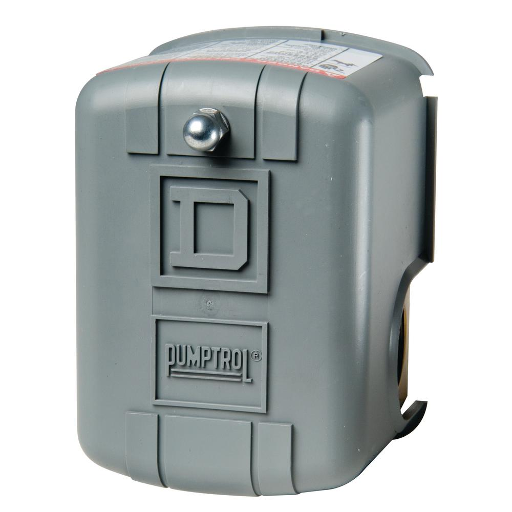 Square D 40-60 psi Pumptrol Water Pressure Switch