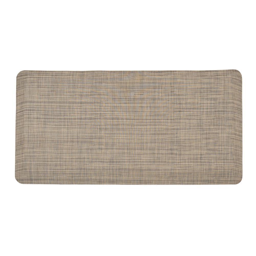 Classic Linen 20 in. x 39 in. Comfort Mat