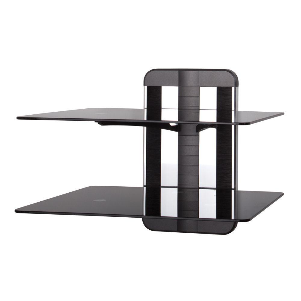 Unimax AV Glass Shelving (2 Shelf)