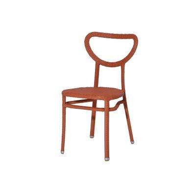 Edina II Coral Patio Dining Chair (4-Pack)