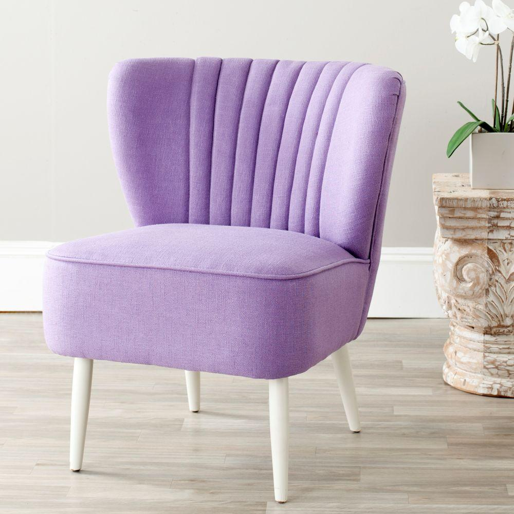 Classic Lavender Accent Chair Decorating Ideas