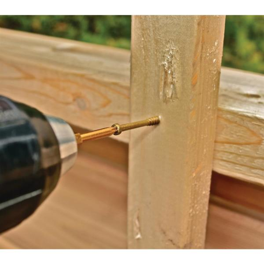 300 per Pail GRK 115734#8 by 3-1//8-inch HandyPak Finish//Trim Screws,