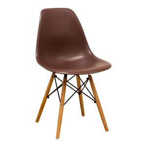 Surprising Paris Tower Chocolate Dining Side Chair With Wood Legs Set Of 2 Ibusinesslaw Wood Chair Design Ideas Ibusinesslaworg
