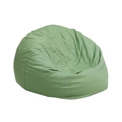 Awesome Green Bean Bag Chairs Chairs The Home Depot Machost Co Dining Chair Design Ideas Machostcouk