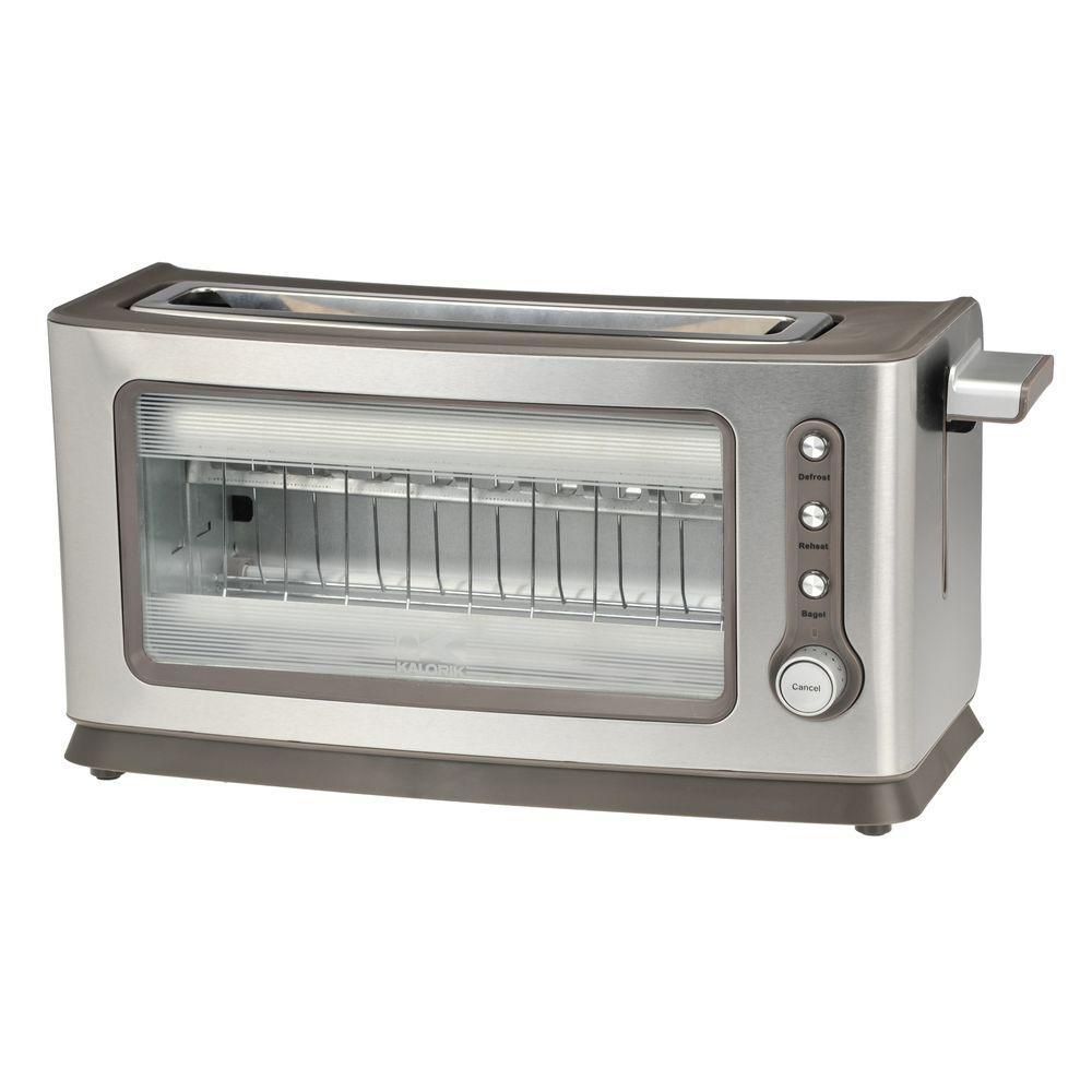 KALORIK 2-Slice Glass Toaster