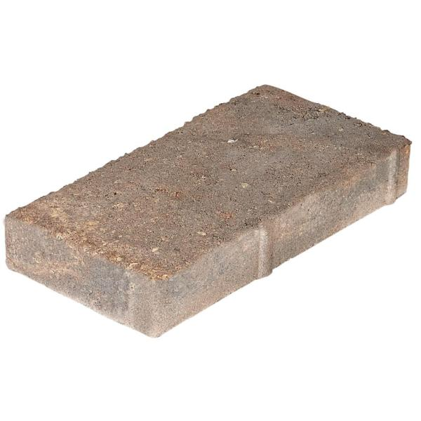 Milano Small 7.75 in. x 4 in. x 1.25 in. Ashley River Blend Concrete Paver (960 Pcs. / 207 Sq. ft. / Pallet)