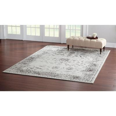 Old Treasures Gray 3 ft. x 5 ft. Area Rug