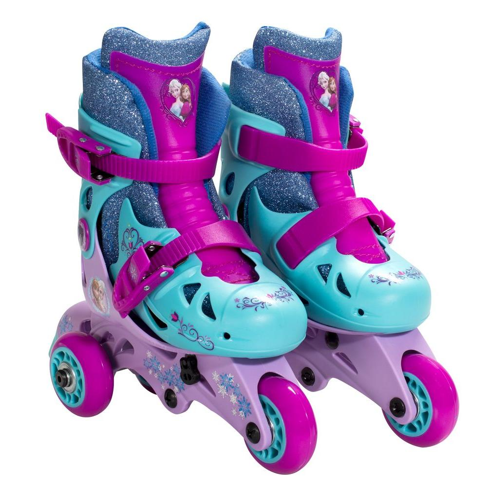 Frozen Convertible Junior Size 6-9 Kids Skate