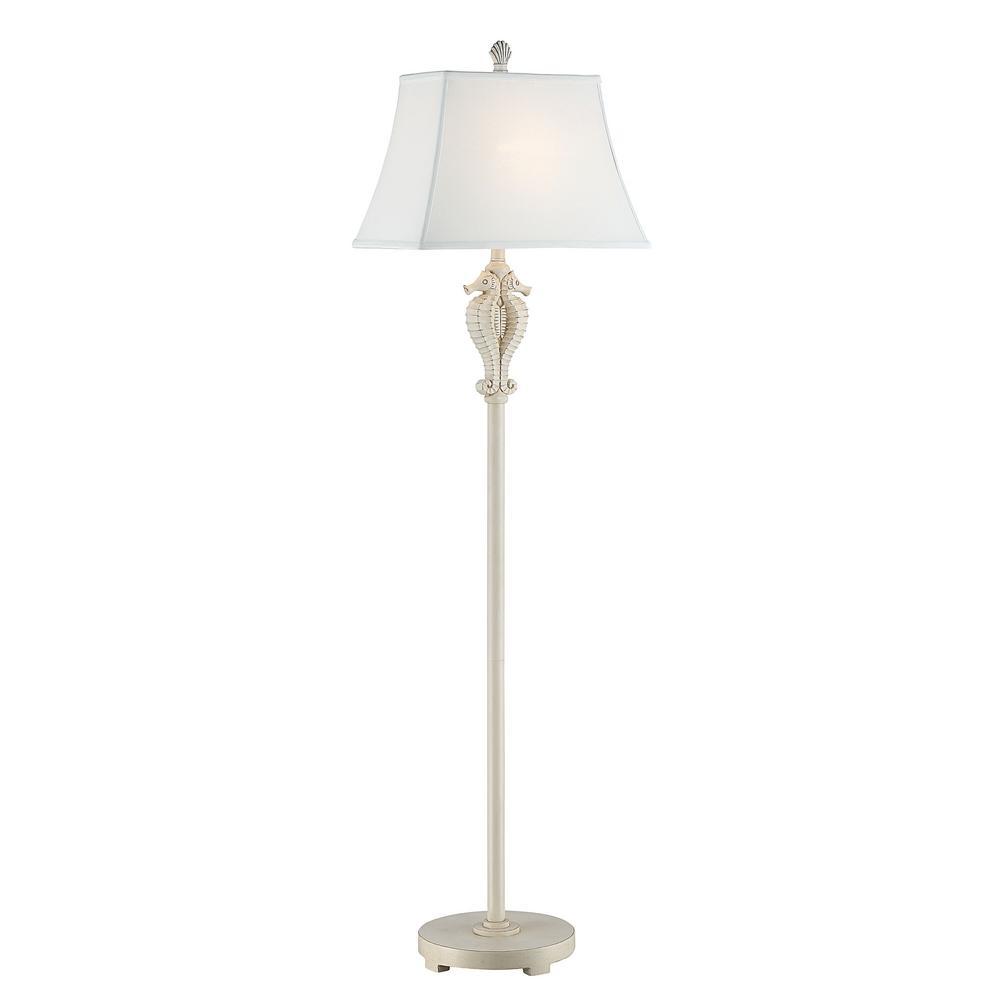 Antique White Indoor Floor Lamp Mai P6 Mw The Home Depot