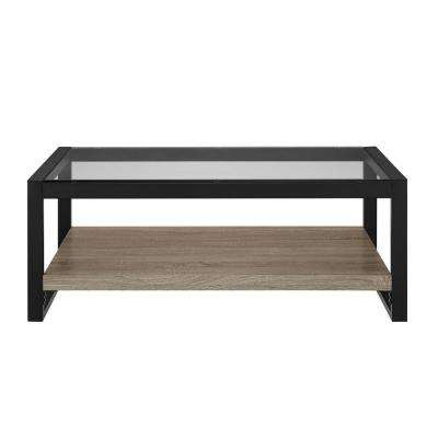 Urban Blend Driftwood Storage Coffee Table