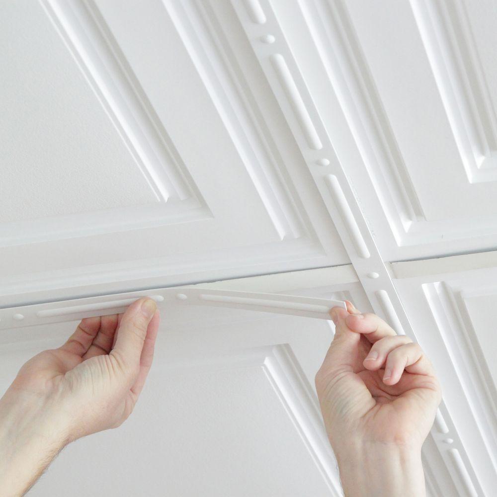 Deco Strips White Self Adhesive