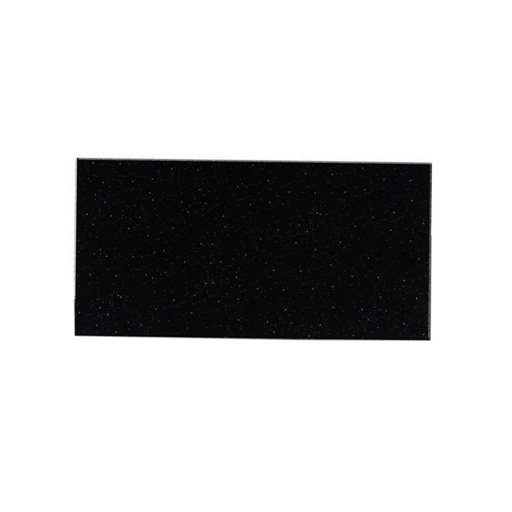 Peel and Stick Glittered Black Nightsky 3 in. x 6 in.