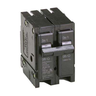 Type BR 15 Amp Double-Pole Circuit Breaker