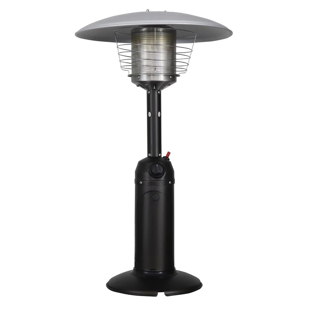 homcomfort 11 000 btu mocha lp table top gas patio heater-hcphttm